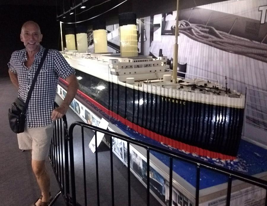 A Titanic Exhibit / Un ExposiciónTitánico